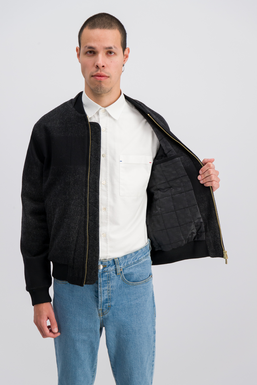 JACKET ANATOLE19-SH - Black shades
