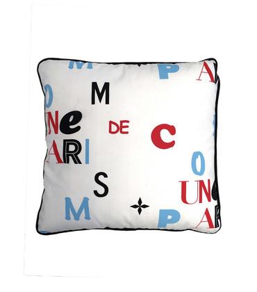Cushion Typo - White