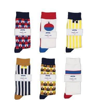 Pack 6 pairs of socks - Multi