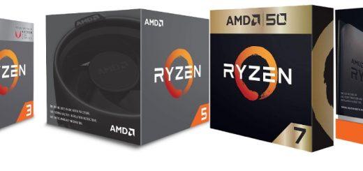 Les principales différences entre les processeurs Ryzen de la série 3, 5, 7 et 9 sont le nombre de coeurs, de threads et de fréquence.