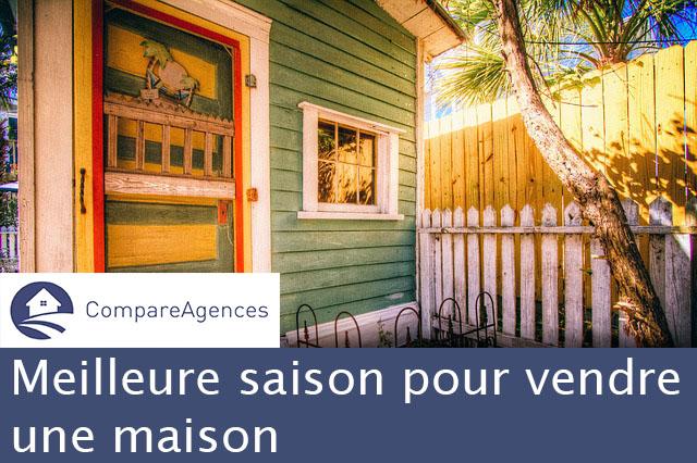 Meilleure saison pour vendre une maison compareagences for Meilleure exposition pour une maison