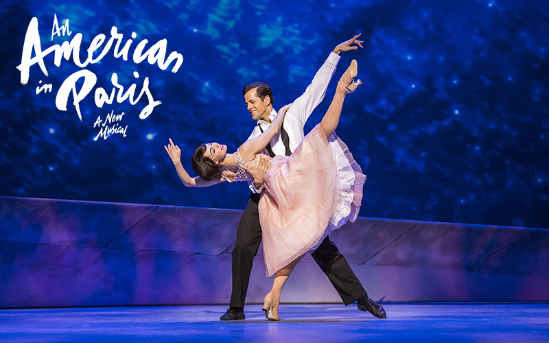 A pair of best available tickets to see AN AMERICAN IN PARIS at the Dominion Theatre