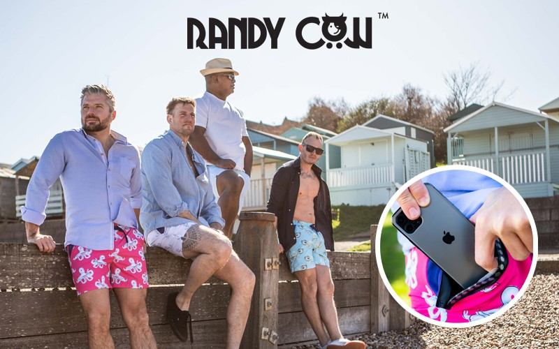 1st prize pack of 2 x Randy Cow Adults Shorts, 2 x Kids Shorts and 2 x Microfibre Towels