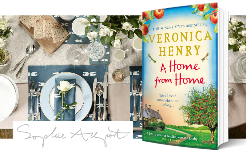 £250 Sophie Allport voucher and a copy of A HOME FROM HOME by Veronica Henry