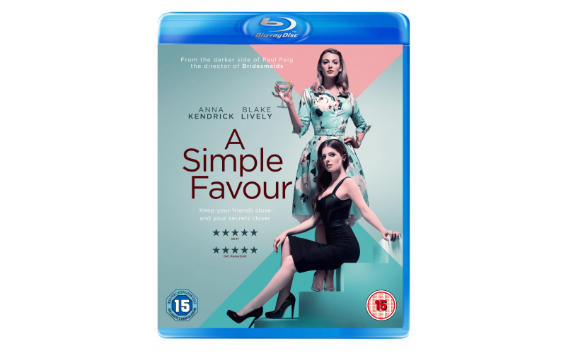 A £380 gift voucher for a 2 night stay at the Macdonald Frimley Hall Hotel & Spa, Surrey; and 2 copies of A Simple Favour on blu-ray