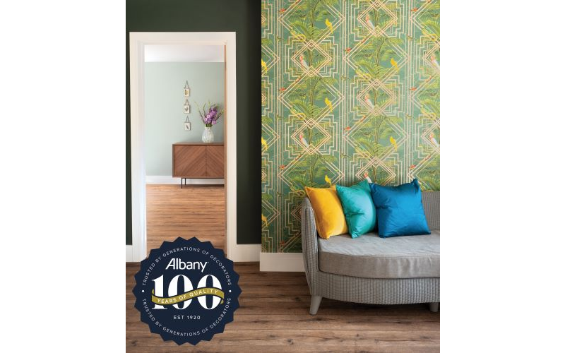 Up to £1,000 of Albany paint and/or wallpaper to use in a room of their choice*