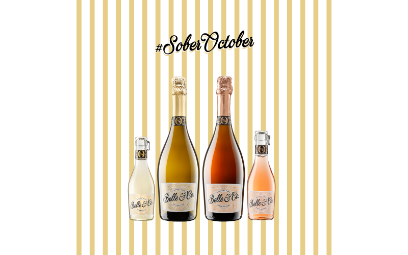 Belle & Co. Alcohol Free Bubbly