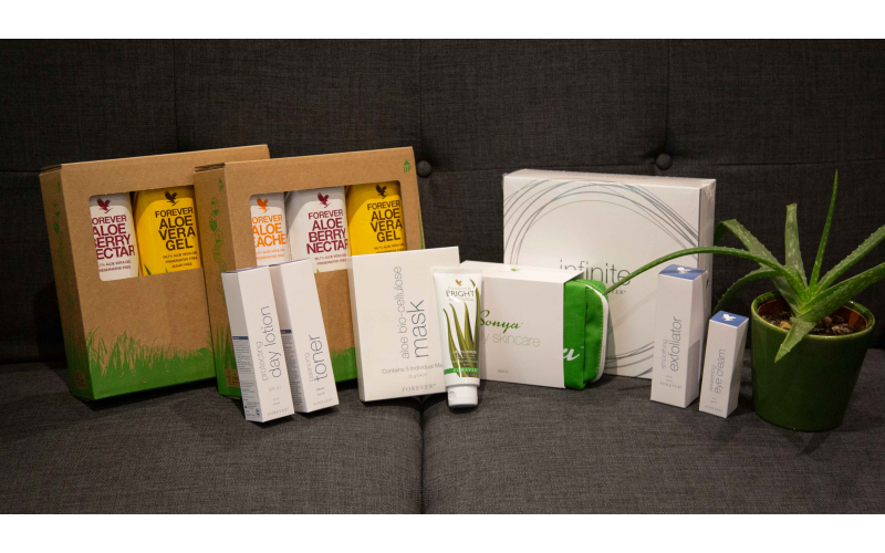 Win £500 worth of Aloe Vera products from Forever Living