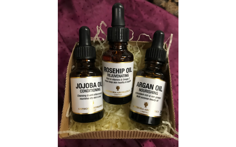 Win one of 22 sets of Amphora Aromatics' multi-tasking beauty oils – worth £22.50
