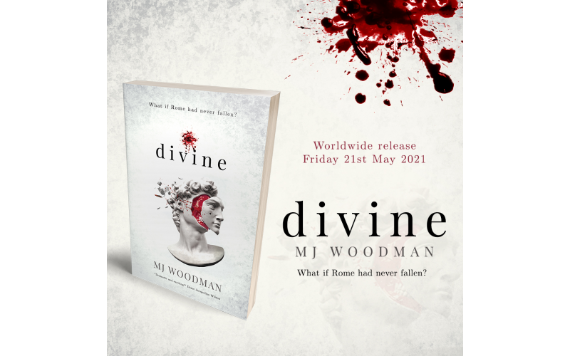 WIN A SIGNED PAPERBACK COPY OF NEW BOOK DIVINE