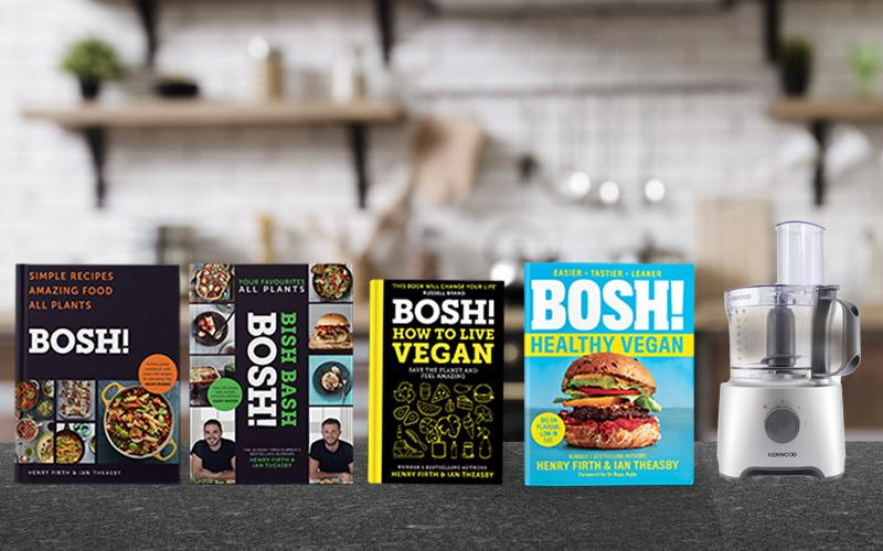 Win a set of BOSH! books and a Kenwood food processor