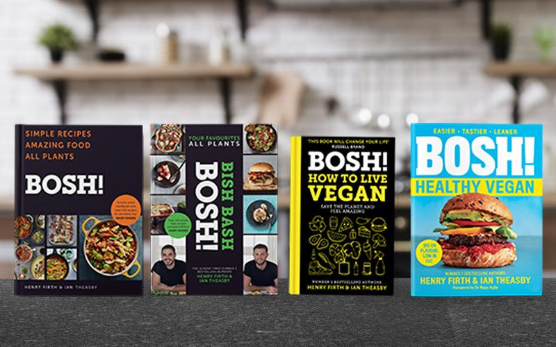 A complete set of BOSH! cookery and lifestyle books