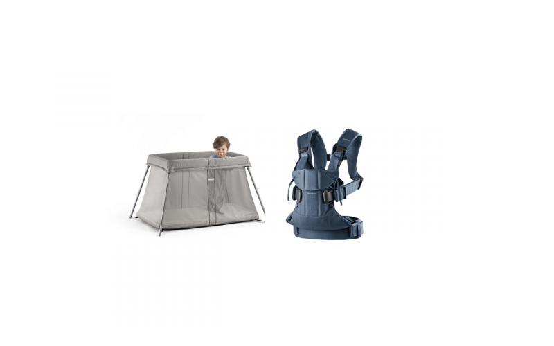 Win a BabyBjörn Travel Cot Easy Go and Baby Carrier One!