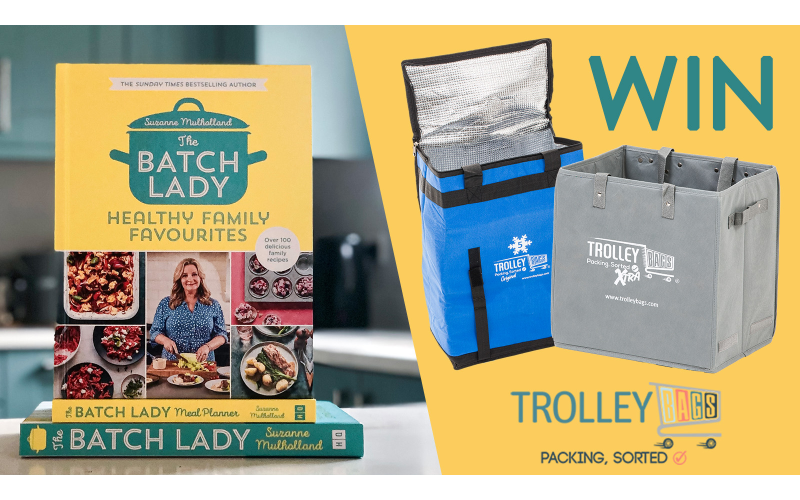 The Batch Lady books bundle + Trolley Goods products