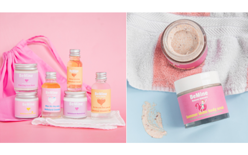 Win a bundle of skincare products from BeMine Skincare worth £45+