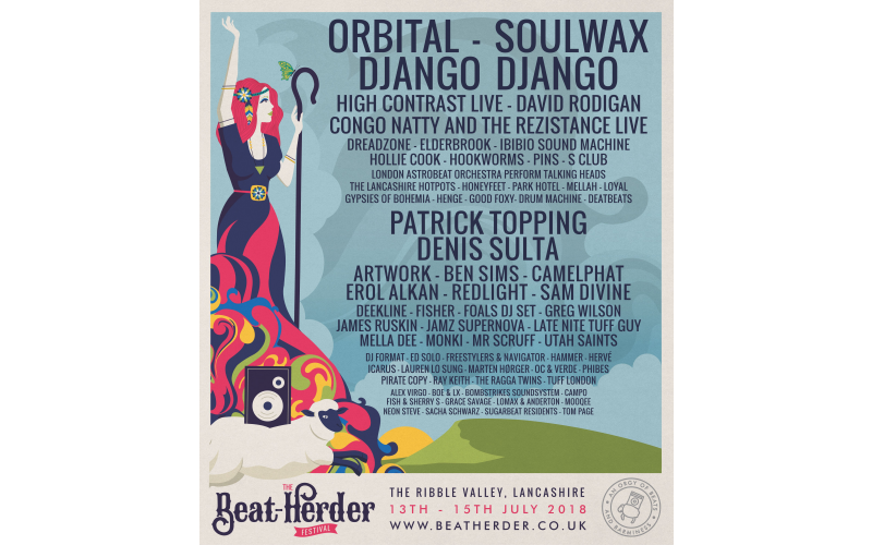 2  weekend tickets to Beat-Herder festival