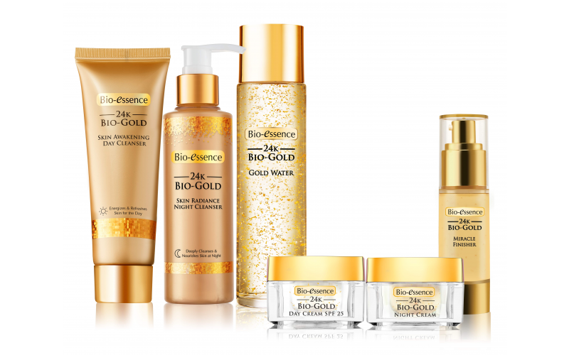 Win the entire 24K Bio Gold collection by Bio-Essence UK!