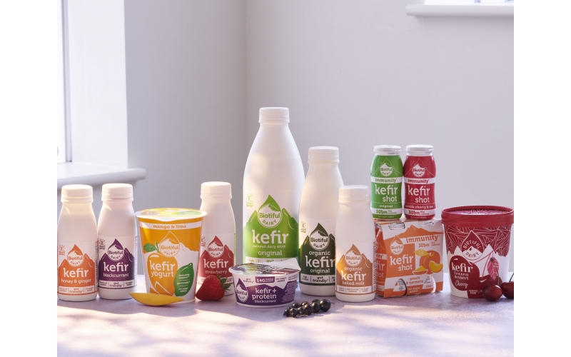 Win a Month's Supply of Delicious Biotiful Kefir