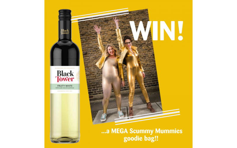 Win a Scummy Mummies goodie bag + revamped Black Tower wine!