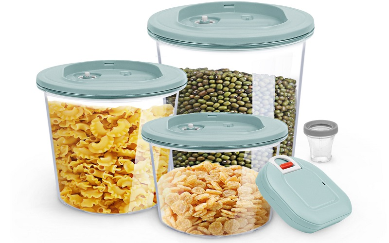 Boxulock Automatic Vacuum Sealed Food Storage Container Set