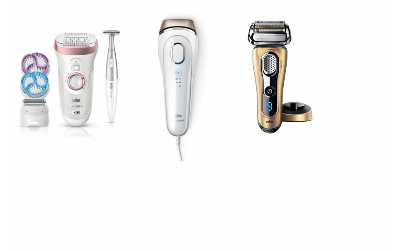 Win a bundle of prizes from Braun worth £500