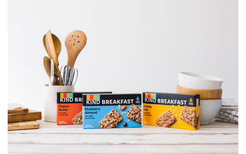 Win a Two Month's Supply of KIND Breakfast Bars
