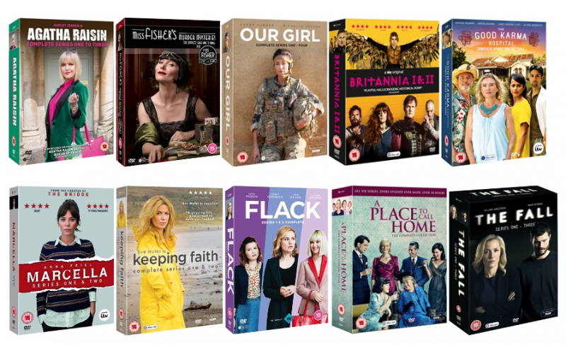 Acorn Media's Bumper Bundle of Fantastic Female-Led TV Box Sets