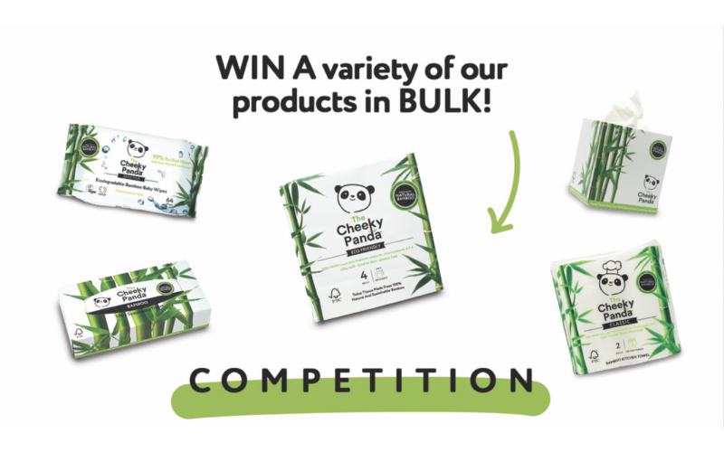 WIN A BUNDLE OF SUSTAINABLE HOME MUST-HAVES FROM THE CHEEKY PANDA