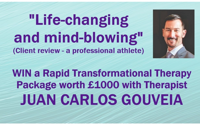 Win a Rapid Transformational Therapy Package worth £1000!