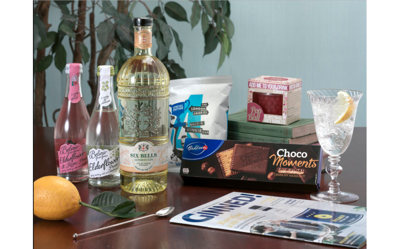 Craft Gin Club X Bahlsen Choco Moments September Hamper