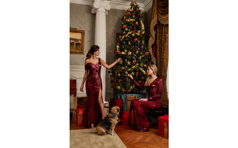 Dress by GODDIVA's Christmas Collection