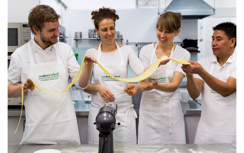 £125 gift vouchers for Cookery School at Little Portland Street