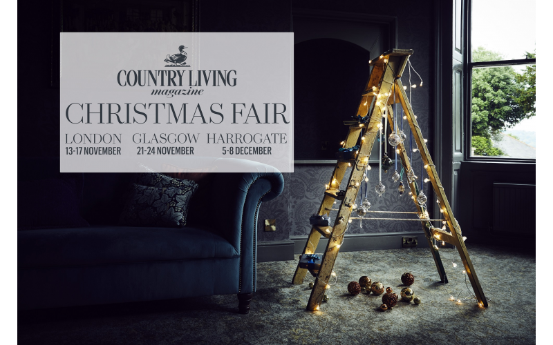 Win tickets to Country Living Christmas Fair