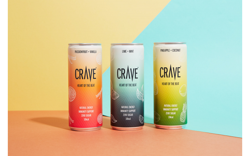 3 month supply of Crave Drinks