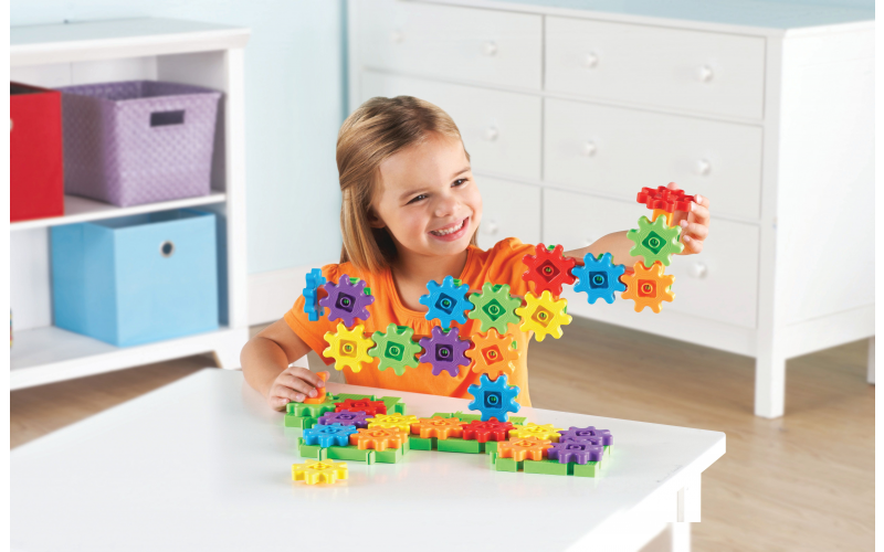 Gears, Gears, Gears Starter Building Set from Create and Craft