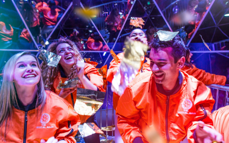 Tickets to the Crystal Maze LIVE Experience