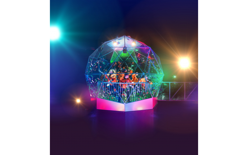 Win tickets for a team of eight  to The Crystal Maze LIVE Experience