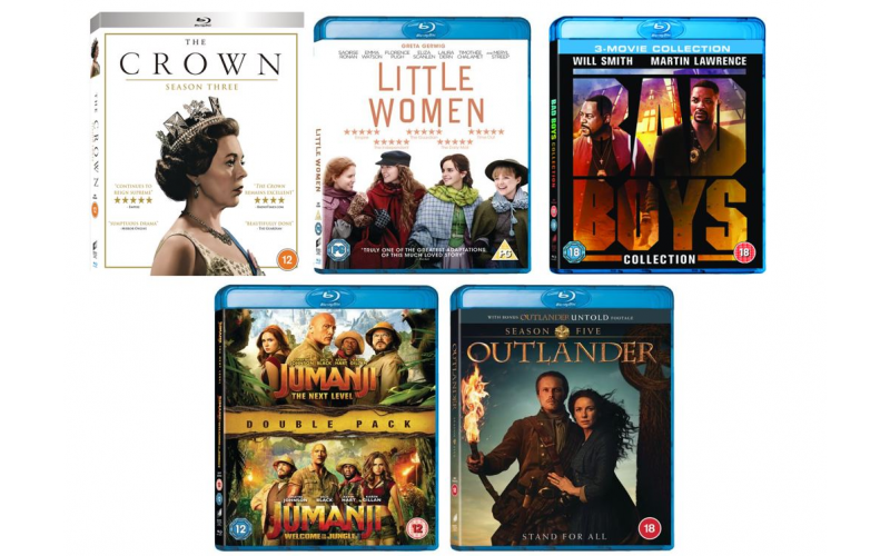 Celebrate Christmas with Blu-rays and DVDs for all the Family!