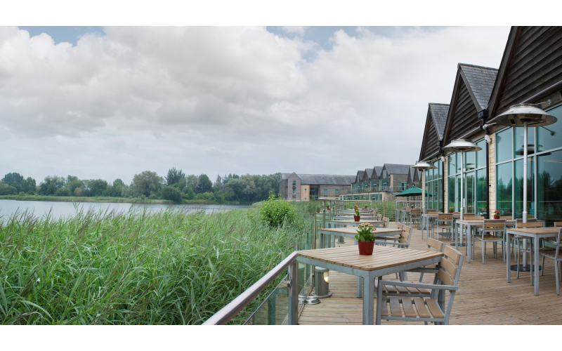 Overnight stay for two with Spa treatment at De Vere Cotswold Water Park