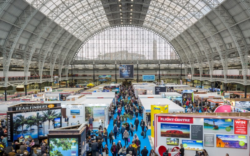 A pair of tickets to The Destinations Holiday and Travel Show, London and Manchester 2019