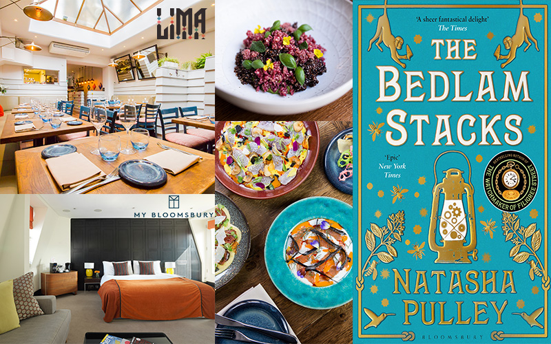 WIN dinner at a Michelin starred restaurant, a stay at MY Bloomsbury Hotel in London PLUS books by Natasha Pulley