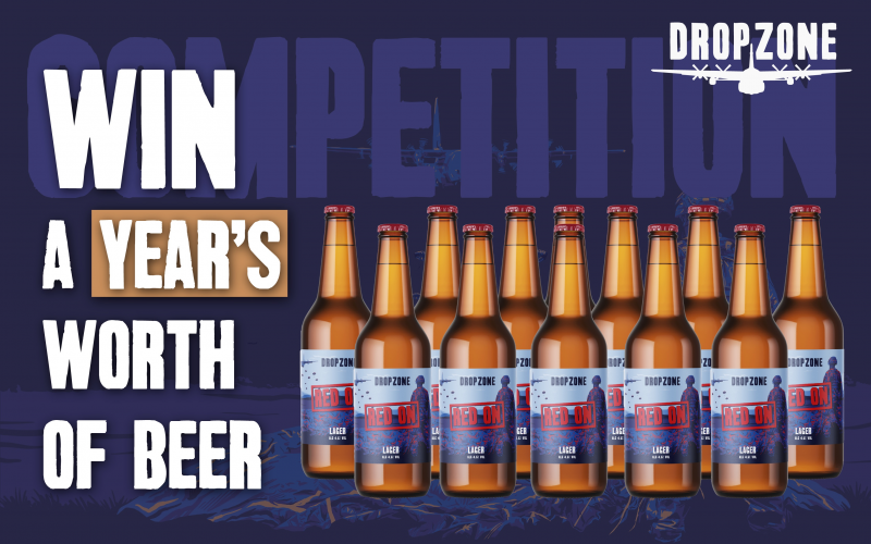 WIN A YEAR'S WORTH OF BEER