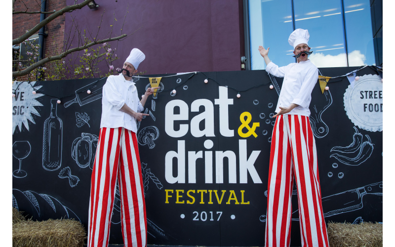 Two tickets to Manchester's Eat & Drink Festival