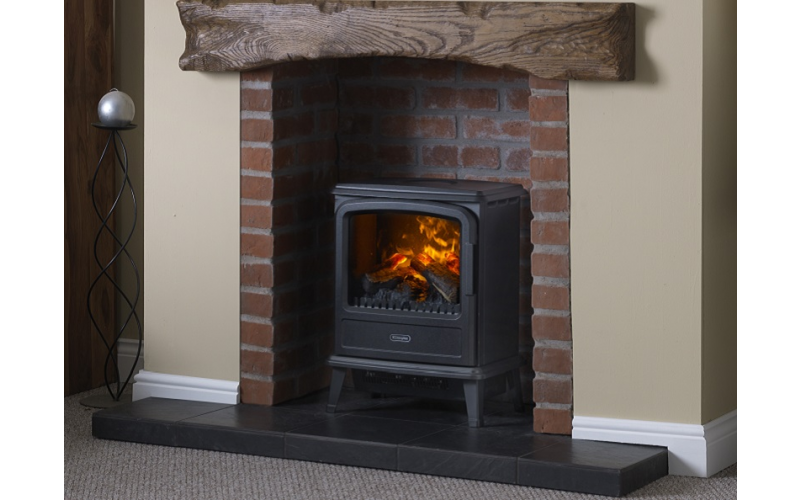 Dimplex Evandale Opti-myst Electric Stove + Hearth Pad