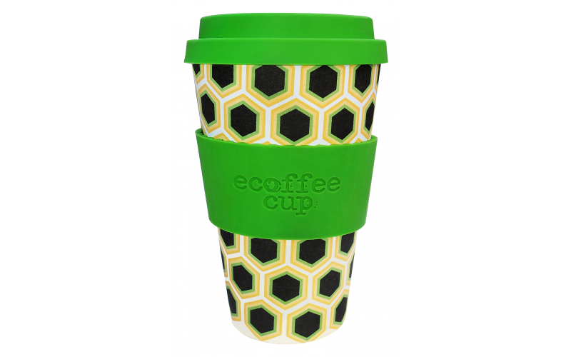 Two Reusable Coffee Cups by Ecoffee Cup