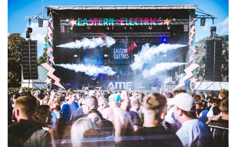 4 x Eastern Electrics VIP Weekend Tickets