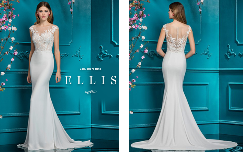 Ellis Bridals Wedding Dress Style 18082