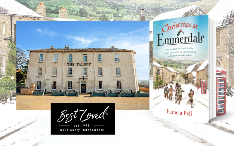 A two-night stay for two at a Yorkshire Best Loved hotel and a copy of Christmas at Emmerdale paperback