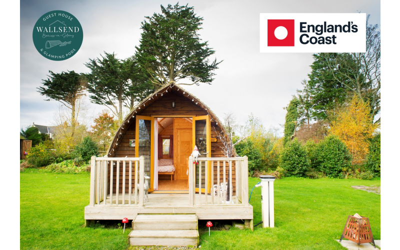 Win a two-night glamping stay in Cumbria with England's Coast