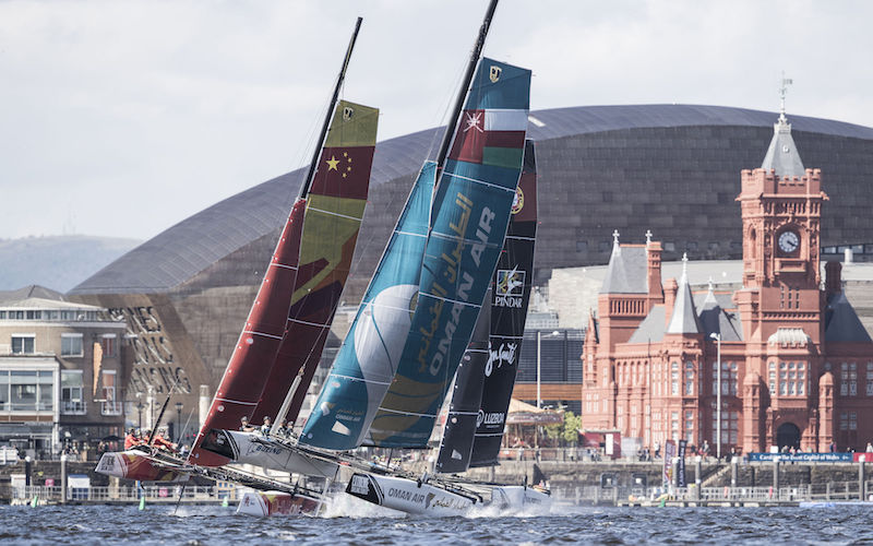 Win a VIP day out at the 2018 Extreme Sailing Series™